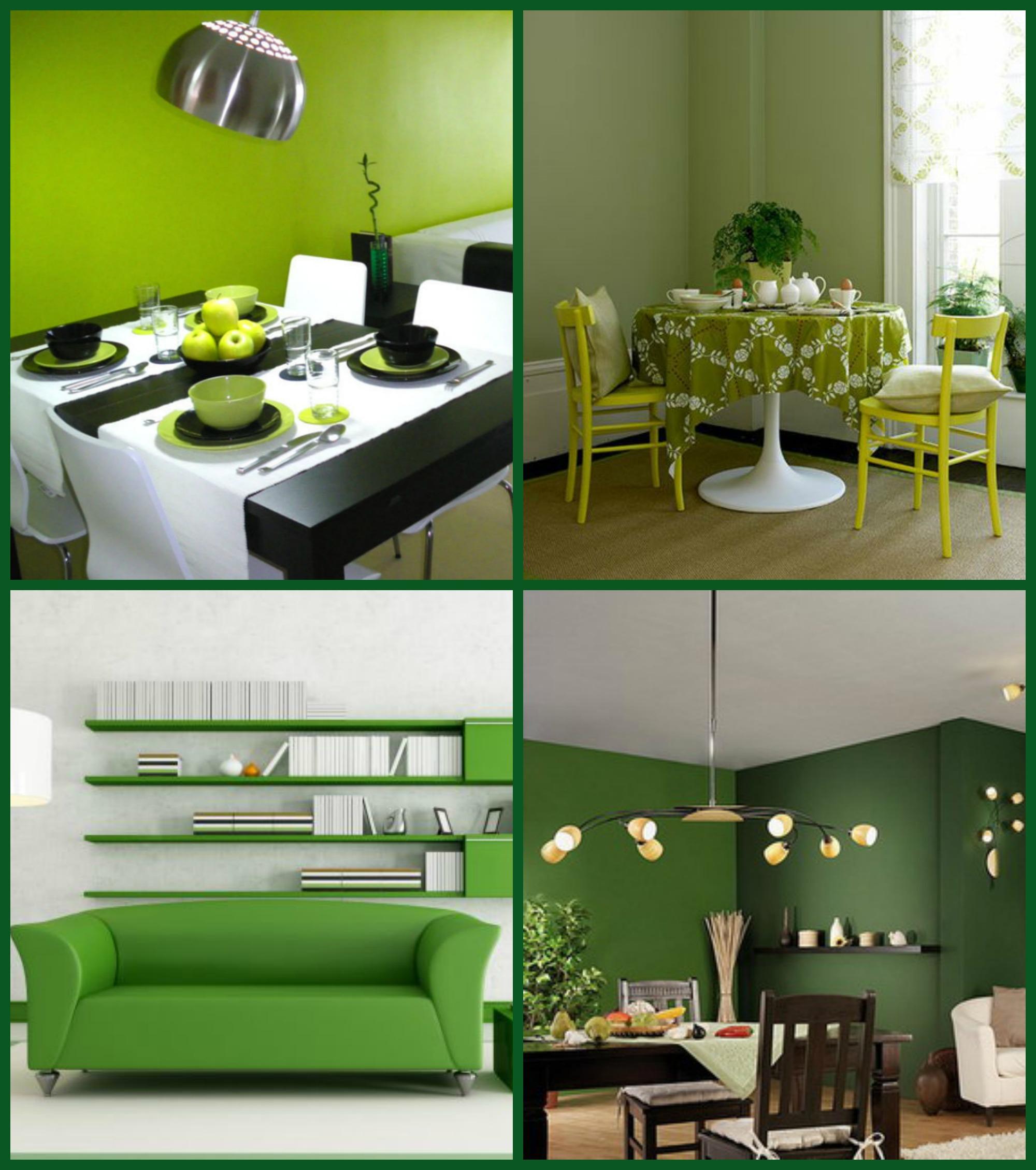 Verde color de la naturaleza y la esperanza - Paredes en verde ...